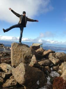 Mt Wellington, Hobart. Tasmania-Australia 2013