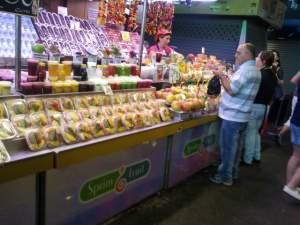 Fresh fruit & vege- Barcelona.