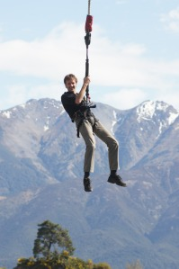 Bungy Jumping Hamner Springs, NZ